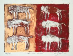 More Buffalo by David Dragonfly