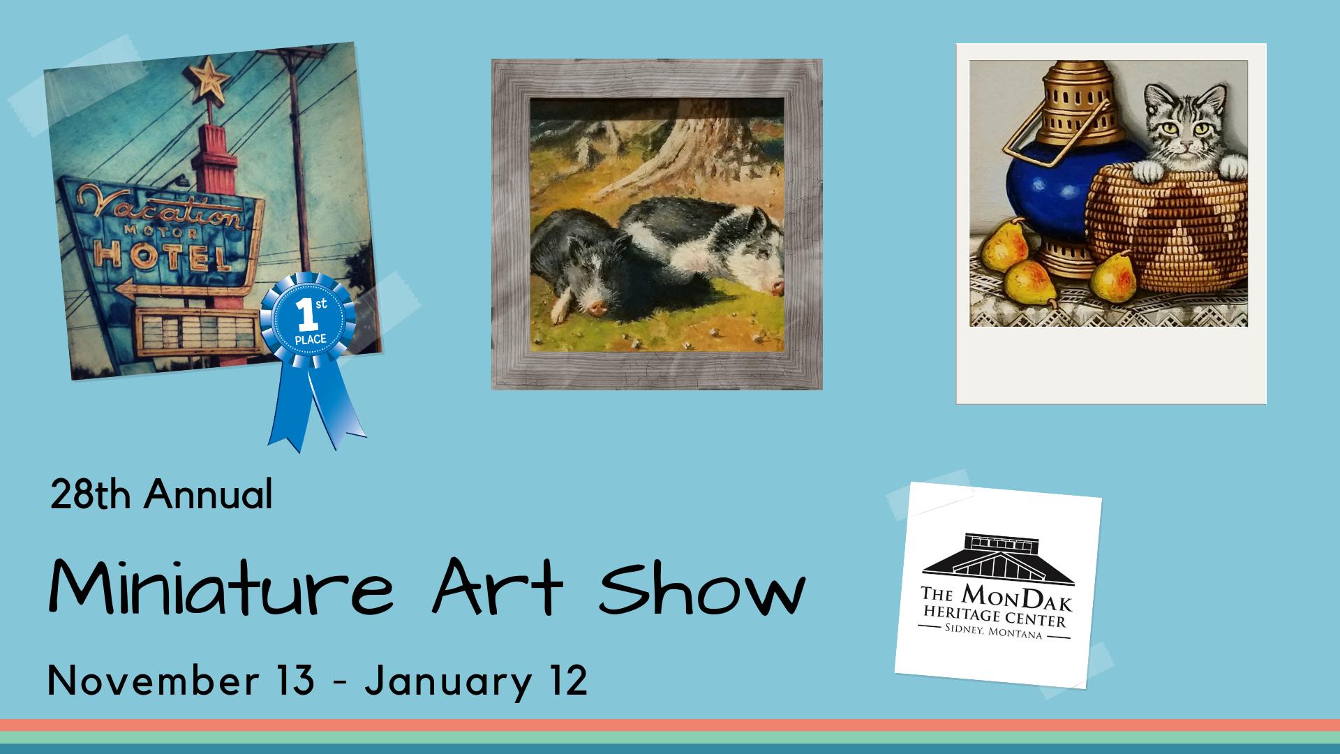 Miniature Art Show