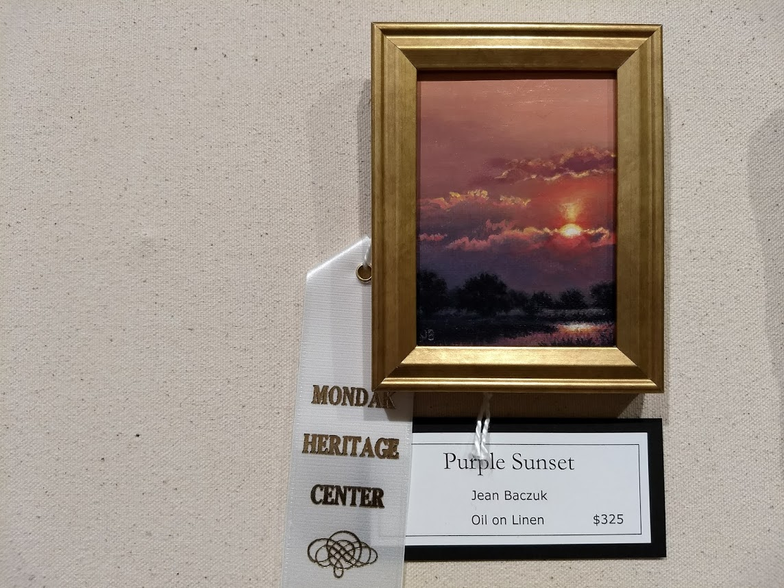 27th annual miniature art show winners mondak heritage for Richland motor inn sidney mt